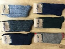 6 PAIRS MENS LONG WOOL BLEND THERMAL SOCKS TICK WALKING HIKING SKI BOOT HJBGF
