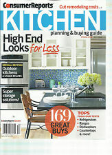 CONSUMER REPORTS. KITCHEN  PLANNING & BUYING GUIDE, JULY, 2014 ( HIGH END LOOKS