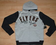 PHILADELPHIA FLYERS LINED HOODIE JACKET WOMENS SMALL