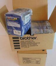 20 X Brother 12 mm Tape Cassette Black/Clear, 8 m TZ-131 NEU