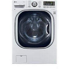 LG 4.3 Cubic Foot Front Load Washer Dryer Combo LED Display, 1200RPM WM3997HWA