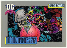 The Great Darkness Saga #161 Impel 1991 DC Comics Trade Card (C289)