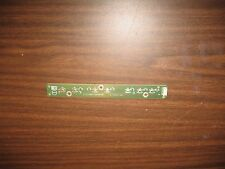 SONY KLV-32U100M Button Control Board with Bezel. Part No.: 715T1752-D