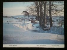 POSTCARD DEVON SOUTH BRENTOR COVERED IN SNOW