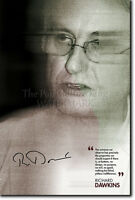 RICHARD DAWKINS ART PRINT 4 POSTER GIFT PHOTO QUOTE ATHEISM