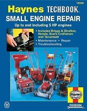 HAYNES TECHBOOK Small Engine Repair Manual #10340 Up to & Including 5 HP engines