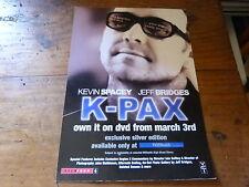 KEVIN SPACEY - Publicité de magazine / Advert !!! K-PAX !!! UK