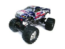 1:10 Ground Pounder RC Monster Truck 4WD Electric Motor 2.4GHz Amsoil Body 3CH