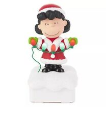 New 2015 Hallmark Peanuts Gang Christmas Light Show - Lucy - Charlie Brown
