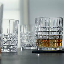 Nachtmann Highland cut pattern-VETRO BICCHIERI WHISKY SET DI 4