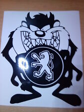 fun peugeot pug 106 206 306 307 car sticker vinyl graphics decals rally racing