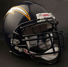 JUNIOR SEAU SAN DIEGO CHARGERS Riddell Z-LTDU Football Helmet FACEMASK NAVY BLUE