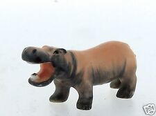 Vintage Metzler and Ortloff German Miniature Hippo Porcelain Figurine - PC