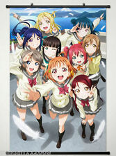 Wall Scroll Poster Fabric Painting for Anime Love Live! Sunshine!! Aqours   666