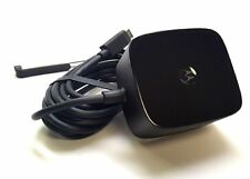 Original 2.8A Motorola Turbo 25 Charger, Fast QuickCharge 2.0 TURBOPOWER Charger