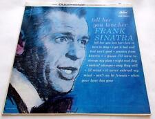 Frank Sinatra Tell Her You Love Her 1963 Capitol DT 1919 Mono 33rpm Vinyl LP VG+