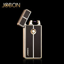 Jobon Electric Arc pulse USB Rechargeable Windproof Cigarette Lighter US Ship
