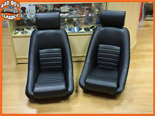 COPPIA BB1 RS Classic Nero Sport Racing SEDILI ANATOMICI MG, FORD, MINI, TRIUMPH