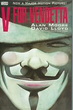 V FOR VENDETTA TPB Alan Moore & David Lloyd Movie Comics TP