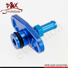 New Fuel Rail Adapter With 6mm Tail For Mitsubishi Evo 1-3 ECLIPSE DSM