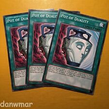 3 x Pot of Duality ~ YuGiOh! ~ 1st Edition ~ Mint Cards!