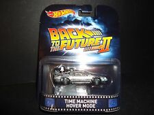 Hot Wheels DeLorean Time Machine Hover Mode Back to the Future Part II 1/64