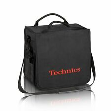 Technics Dj Record Bag Ruck Sack 50 vinyl LP Capacity Red Logo SL 1200 SL 1210