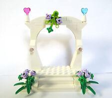 LEGO Matrimonio ad arco per sposa e sposo minifigura figura della tabella Topper Decorazione