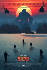 Kong: Skull Island Original D/S One Sheet Rolled Movie Poster 27x40 NEW 2017