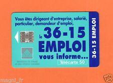Télécarte - Le 36-15 EMPLOI  (A3563)