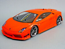 Custom Tamiya 1/10 RC Car LAMBORGHINI GALLARDO   L.E.D Lights -RTR-