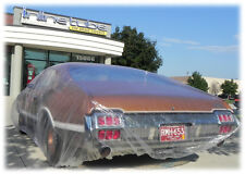 Disposable Plastic Car Cover with Elastic Band Dust Cover Rain Car Cover Ford