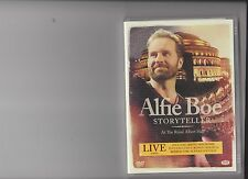ALFIE BOE STORYTELLER AT THE ROYAL ALBERT HALL DVD MUSIC CONCERT