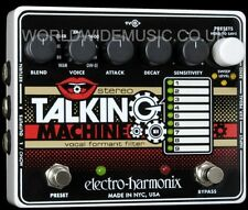 EHX Electro Harmonix Talking Machine Guitar Effects Pedal including power supply
