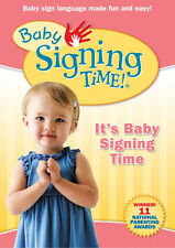"""Baby Signing Time Vol #1  DVD """"It's Baby Signing Time"""""""