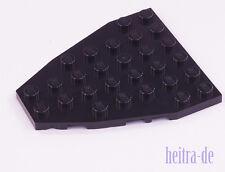 LEGO - Platte 7x6 schwarz für Schiff, Boot / Flügelplatte / 50303 NEUWARE (ak22)