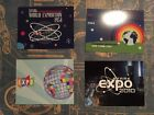 • STARK EXPO LIMITED POSTCARD SET • PROP REPLICAS • AVENGERS IRON MAN MARVEL •