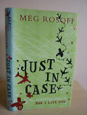 Just in Case By Meg Rosoff 1/2 HB 2006 NEW.