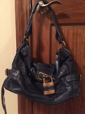 Chloe Paddington Blue Nuit-Navy Shoulder Bag/Hobo