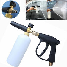 3000 PSI Car Pressure Water Washer Gun with Bottle 1L Foam Lance Soap Washer Kit
