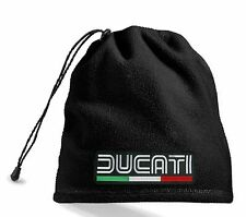 NECK WARMER HEADPHONES CAP SCARF CHINSTRAP 4 in 1 PATCH DUCATI RACING