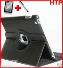 Black Smart Leather Case Screen Protector Stylus Pen for Apple iPad 4 iPad 3 2