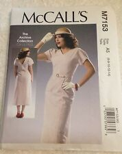 """New McCall's Sewing Pattern M7153 """"Archive Collection 1933"""" 1930s Style 6 - 14"""