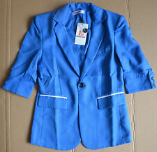 H2H Mens Slim Fit Single One Button Blazer Jacket, Medium, JGSK09-Blue