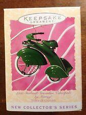 HALLMARK 1997 SIDEWALK CRUISERS 1935 STEELCRAFT STREAMLINE VELOCIPDE # 1