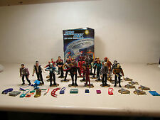 Lot of 26 Playmates Star Trek 1990s Action Figures in Collector Case