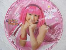LAZY TOWN Party PLATES Favor Birthday Stephanie Lunch x12 Supplies Treats Girl *
