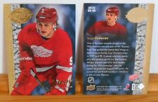 (3) 2008 UPPER DECK HOBBY PREVIEW 20TH ANNIVERSARY SERGEI FEDOROV LOT