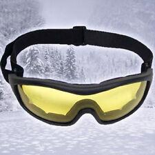 SchutzBrille Sportbrille Mountain mit gelben Gläsern Fahrradbrille Squashbrille