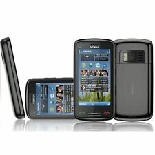New Condition Nokia C6-01  Unlocked Black GPS 3G 8MP Camera Sim Free Smartphone